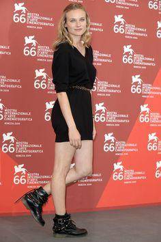Diane Kruger beim Filmfest in Venedig 2009