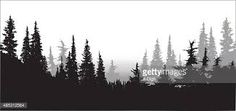 Image result for pine tree silhouettes