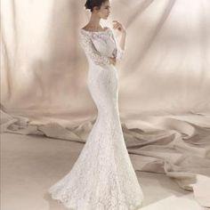 Sia brudekjole St Patrick fra Sans for Bryllup St Patrick, Wedding Dresses, Fashion, Bride Dresses, Moda, Bridal Gowns, Fashion Styles, Wedding Dressses
