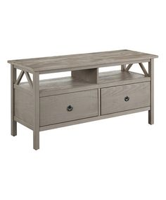 Look what I found on #zulily! Rustic Gray Titan TV Stand #zulilyfinds