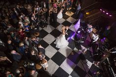 Bride And Groom First Dance Wedding Day Portrait At Tampa Reception Venue The Oxford Exchange