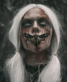 ideas for dark art photography blood demons Dark Art Photography, Horror Photography, Macabre Photography, Photography Illustration, Maquillage Halloween, Halloween Makeup, Dark Art Tattoo, Satanic Art, Horror Artwork
