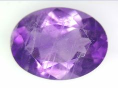 1.10 CT NATURAL AMETHYST LOOSE GEMSTONES PURPLE OVAL FACETED CUT 6.03 X 8.08 MM