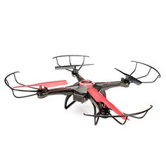 JJRC V686 24G Transmitter 58G Image Transmission 4CH 6Axis Gyro 3D Hover Flight Movement Headless Mode 2 FPV RC Quadcopter RTF with 20MP HD Camera for Aerial Photography Black *** Want to know more, click on the image.