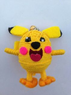 Pikachu / String Doll World