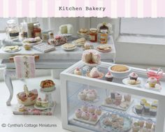 RESERVED for Sarah-Miniature Bakery by HamptonIvyDesigns on Etsy