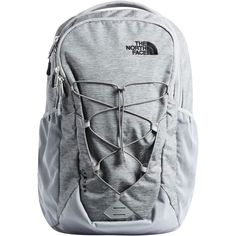 835b3e12313 The North Face - Jester 26L Backpack - Mid Grey Dark Heather Tnf Black