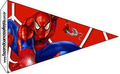 Bandeirinha Sanduiche Homem Aranha: