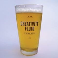 Creativity Fluid Glass