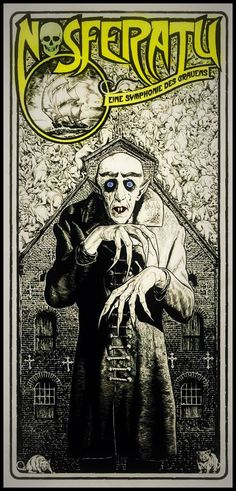 Nosferatu is still wonderful after all the times I've watched it. These are the kind of movies that never die.