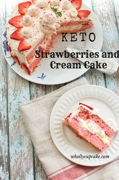 Keto Strawberries and Cream Cake – Wholly Cupcake! Keto Strawberries and Cream Cake – Wholly Cupcake! Source by saratugboat The post Keto Strawberries and Cream Cake – Wholly Cupcake! appeared first on Griffith Diet and Fitness. Low Carb Sweets, Low Carb Desserts, Low Carb Recipes, Dessert Recipes, Cupcake Recipes, Donut Recipes, Vegetarian Recipes, Keto Postres, Keto Snacks