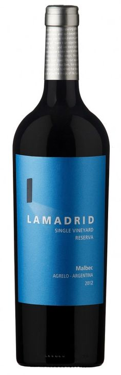 Nueva añada de LAMADRID Malbec Reserva 2012