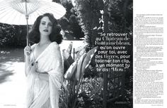 """Lana Del Rey's Rosalita – Singer Lana Del Rey takes on Spanish-inspired style for the April cover story of L'Officiel Paris. With creative direction by Adrien Pelletier, the """"Born to Die"""" star wears looks from the likes of Ralph Lauren Collection, Gucci, Dolce & Gabbana and Rochas styled by Vanessa Bellugeon in Nicole Nodland's sunny …"""