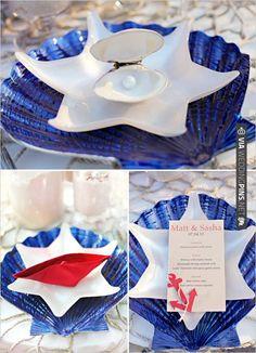 nautical wedding decorations   VIA #WEDDINGPINS.NET