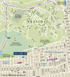 Berkeley Area Map
