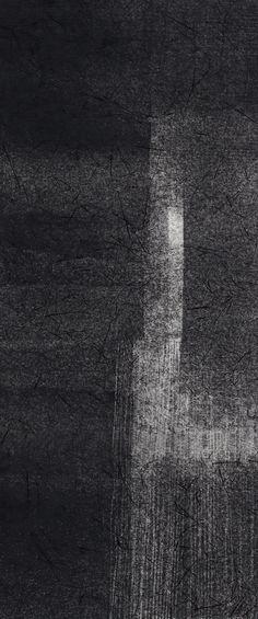 Ann Symes - Chink of light - monoprint