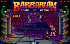 Barbarian # Amstrad cpc 6128