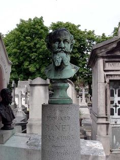 The tomb of Édouard Manet  Passy Cemetery ~ 16e arrondissement