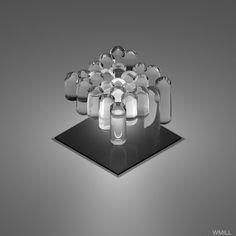オンマカキャロニキャソワカ oM mahaa-k: crossconnectmag: GIFSfrom WM Design 23 / M /...