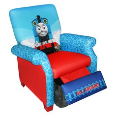 Thomas The Tank Engine Flip Out Sofa Australia White Wicker And Chairs 28 Best Open For Kids Images Flipping Beds Hit Entertainment Train Recliner 139 99