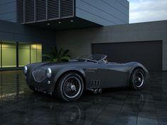 Austin Healey 1004 V8 Custom #car #austin #healey