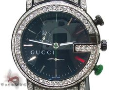 At TraxNYC we specialize in high quality Gucci. The G color in this piece is exceptional!