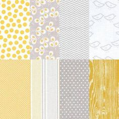 We love playing with fabric in the shop, and we think this combination of soft greys and pale yellows will make you swoon! We've done all the work for you, and now you're ready to start stitching! Use this bundle alone for smaller projects, or mix and match with other fabrics for larger projects. This fabric bundle is made up of 7 fat quarters (approximately 18