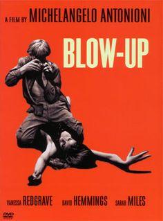 Blow-up de Michelangelo Antonioni, 1966. Sobre um fotógrafo de moda, é um dos filmes que melhor retrata a Swinging London scene dos anos 60.