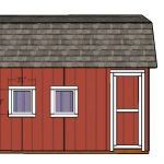 This step by step diy project is about lean to shed plans. This compact shed has a lean to roof with a front oriented slope. The shed also comes with double front doors, for an easy access. You can build this shed in one week and save a lot of money. Small Pergola, Pergola Attached To House, Cheap Pergola, Diy Pergola, Pergola Ideas, Curved Pergola, Wooden Pergola, Pergola Shade, Small Patio
