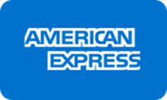 Available Payment systems: American Express