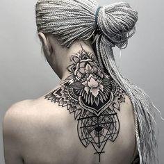 Sharp & Stunning Black Geometric Tattoos by Otheser | Tattoodo