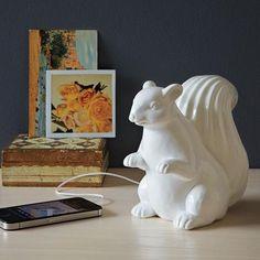 Ceramic Squirrel Speaker
