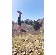 Handstand Pose » Yoga Pose Weekly