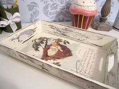 Decoupage tray
