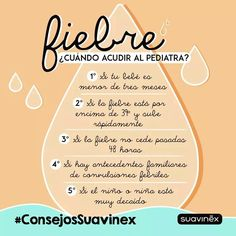 #Fiebrebebe #consejos