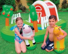 Intex Recreation Farmhouse Fun Play Center Age 3 *** Click image for more details.Note:It is affiliate link to Amazon.