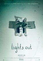 La locandina del film Lights Out