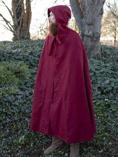 Mittelalter Mantel Umhang Top Qualität Große Kapuze Mittelalterumhang WARM Wolle
