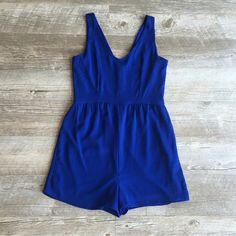 Blue Jay Romper