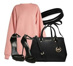 """""""Untitled #1063"""" by princessjay003 ❤ liked on Polyvore featuring Boohoo, Acne Studios, MICHAEL Michael Kors and Gucci"""