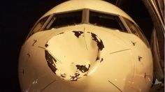 Small UFO Obliterated By Oklahoma City's Chartered Plane