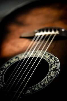 Ovation Guitar by Michael Hellqvist ~ my gone from my sight brother's first guitar was an Ovation.  Near to my heart ~