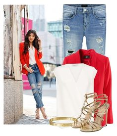 Red day by itaylorswift13 on Polyvore featuring polyvore fashion style 3.1 Phillip Lim Paul Andrew Cartier clothing