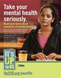 Take your mental health seriously. Read up to learn about symptoms of mental illness.