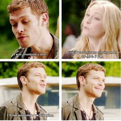 Caroline is the only one who can make klaus really smile. It's a beautiful love story. I ship kloroline more than Delena.