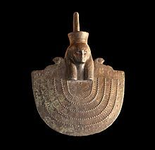 Égida de Neit, Dinastía XXVI de Egipto.