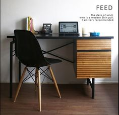 Nordic Desk モダンデスク パソコンイームズ北欧シンプル机イケア インテリア 雑貨 家具 Modern ¥26800yen 〆05月22日