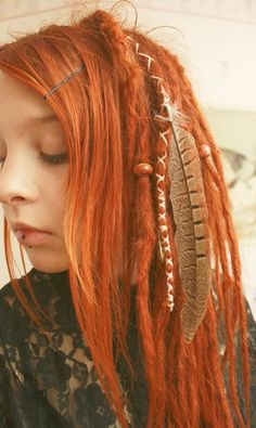 A rare example of dreadlocks on a white girl that don't make her look like she never washes her hair-- these are gorgeous