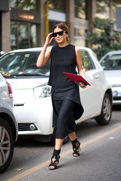 Ciao Bellas! Milan Street Style Day 5 - HarpersBAZAAR.com
