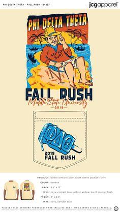 Phi Delta Theta Fall Recruitment Shirt | Fraternity Fall Recruitment | Greek Fall Recruitment #phideltatheta #phidelt #Fall #Recruitment #beach #ocean